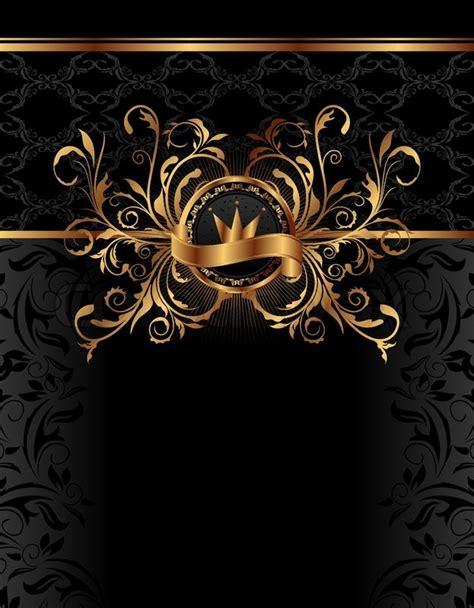 background design royal illustration royal background with golden frame vector