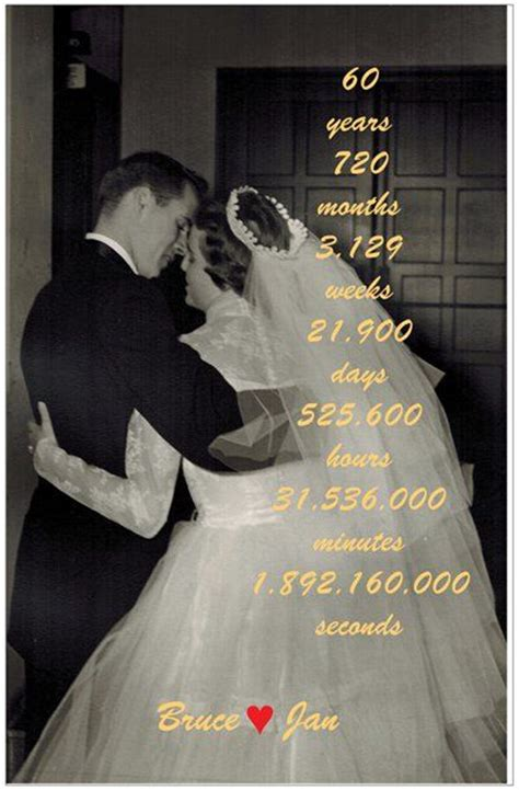 60th Wedding Anniversary Ideas On by 17 Best Ideas About 60th Anniversary On 60th