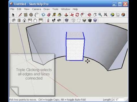 sketchup tutorial intersect architectionary sketchup tutorial intersect with model