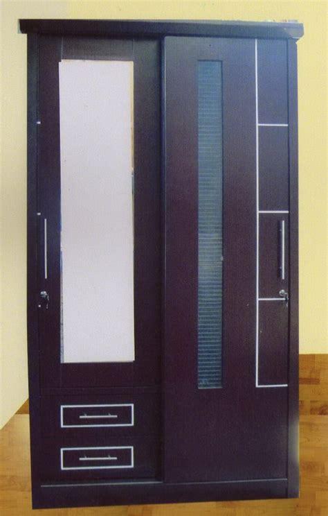 Lemari Pakaian Teak Block adika lemari 2 pintu sliding type italy kemenangan
