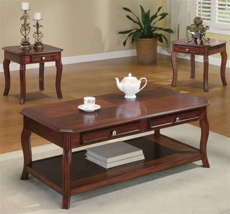 Coffee And Side Table Set by Coffee Table With Storage For A More Organized Living Room