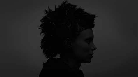 rooney mara girl with the dragon tattoo the with the monochrome rooney mara