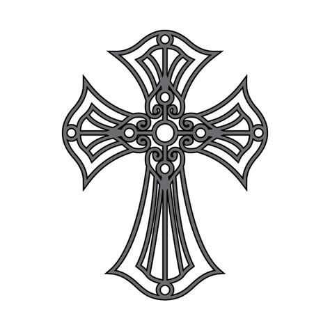 tattoo cross vector cross tattoo version two by sythe01 on deviantart