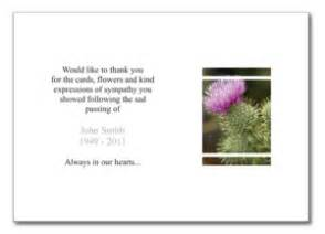 blog funeral thank you notes