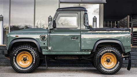 land rover pickup truck land rover defender pick up gets customized by kahn design
