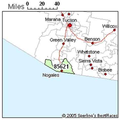 nogales arizona map best place to live in nogales zip 85621 arizona