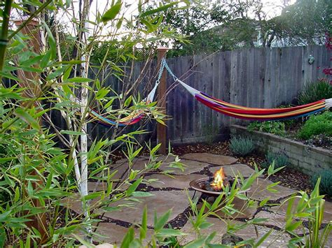 Backyard Hammock Outdoor Lounging Spaces Daybeds Hammocks Canopies And