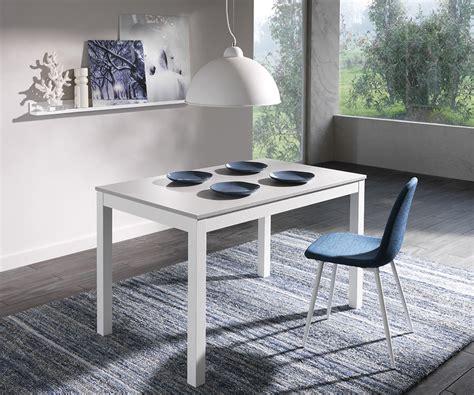 tavoli target tavolo allungabile target 130x80 grigio bianco duzzle