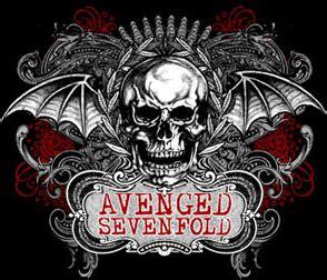 Kaos Avenged Sevenfold Logo 02 warisno94 band avenged seven fold