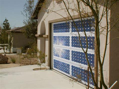 Solar Powered Garage Door Opener The Solar Panel Garage Door Precision Garage Door
