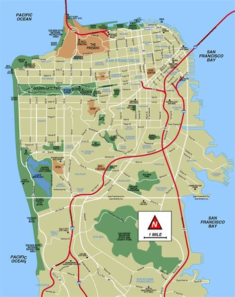 san francisco map rds tourisme guide touristique san francisco