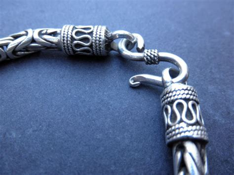 Handmade Sterling silver bracelet from Bali   45 eur.   Jewellery Sterling silver chains and
