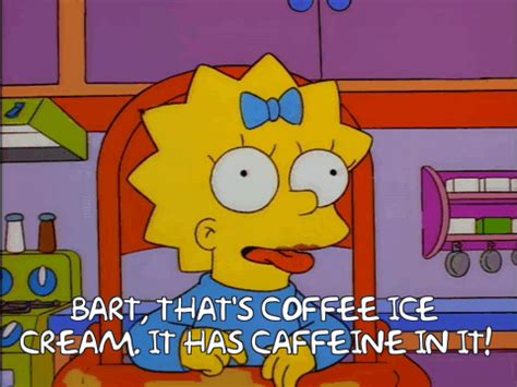 Coffe K Link 15 simpsons coffee gifs you need in your
