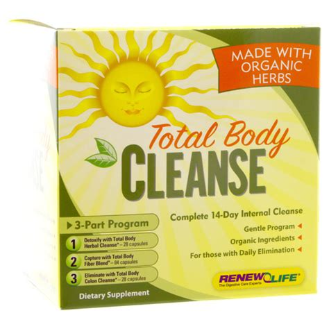 Optimum Health Nutrition Detox And Cleanse Pills Review by Total Cleanse Renew