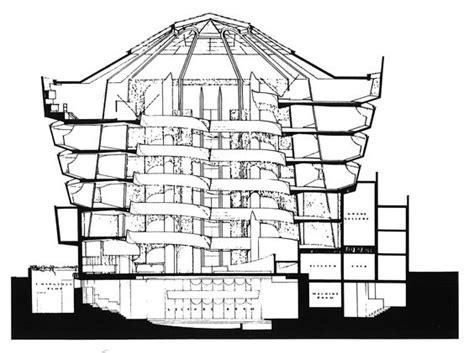guggenheim floor plan frank lloyd wright floor plans guggenheim new york section