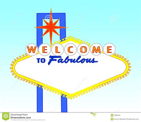 welcome to las vegas sign template blank day time las vegas sign royalty free stock images
