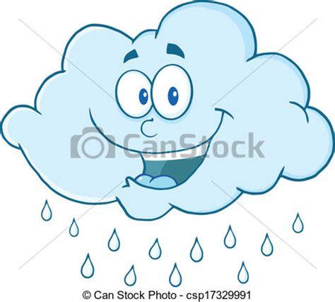 imagenes comicas de lluvia eps vectores de llover nube feliz feliz nube llover