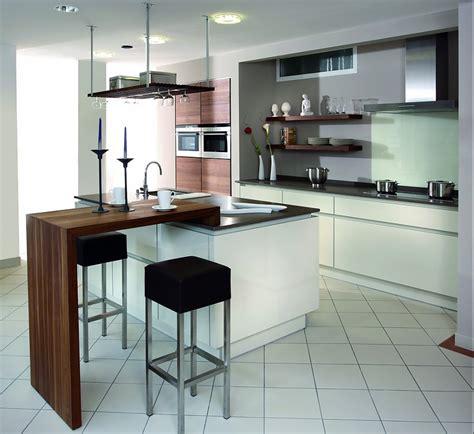 k 252 che mit theke mehrfarbig - Eine Wand Küche Mit Insel