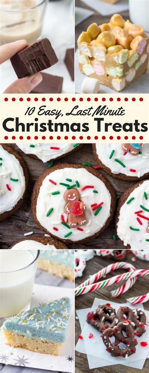 10 easy last minute christmas treats just so tasty