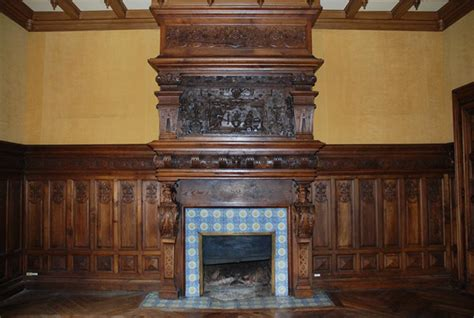 Antique Wood Fireplace by Fireplace Mantels Wood