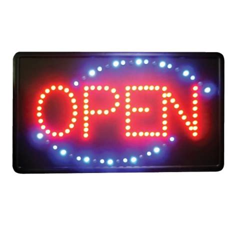 room in use lighted sign winco led 6 21 in led open sign etundra