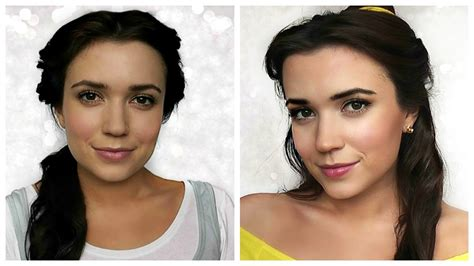 Makeup Makeover And The Beast and the beast hair makeup tutorial