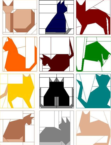 Patchwork Cat Quilt Block Patterns - 25 best ideas about cat quilt on cat quilt