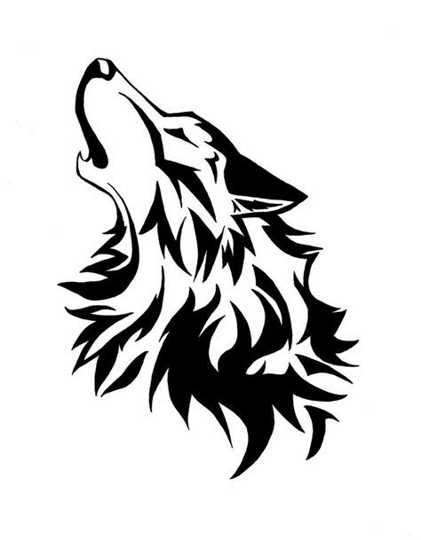 howling wolf tattoo designs wolf howling designs