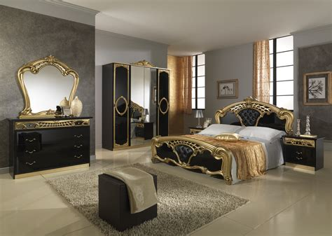 wonderful black  gold bedroom ideas atzinecom