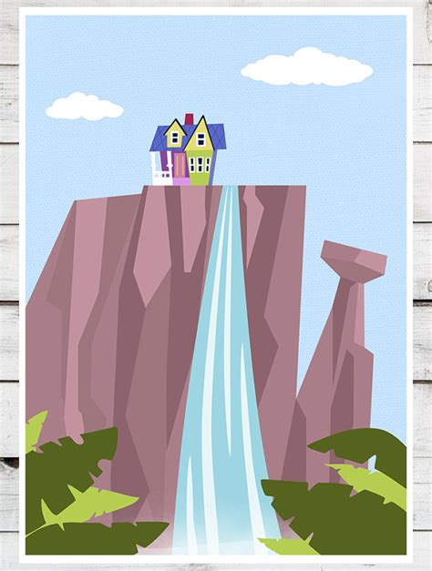 up film waterfall disney pixar up paradise falls mountain waterfall ellie