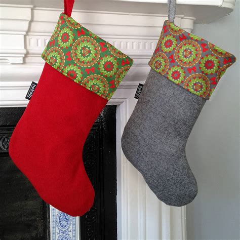 pattern christmas stocking brussels sprouts christmas stocking by hokolo