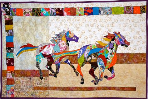 horse pattern quilt kits northeast quilting friends quilt guild more horse quilts