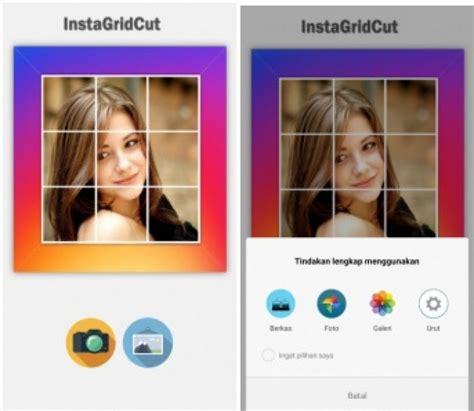 cara membuat instagram kekinian cara membuat foto grid di instagram wajib coba biar kekinian