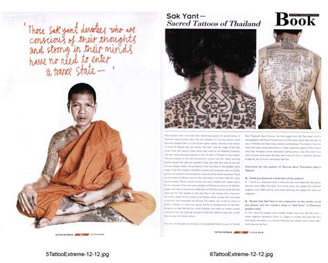 tattoo extreme magazine pdf sacred skin in 8 page spread in taiwan tattoo magazine