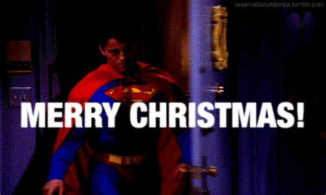 gifbase merrychristmas happyholidays superman joey friends