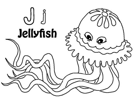 Jellyfish Coloring Pages To Print Az Coloring Pages Jelly Fish Coloring Pages