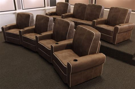 comfortable home theater seating salamander designs debuts isabella home theater seats eh