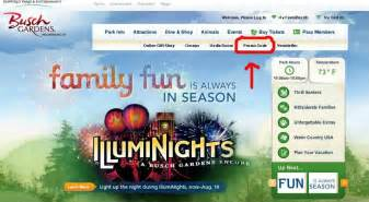 how to save 20 on busch gardens williamsburg or water