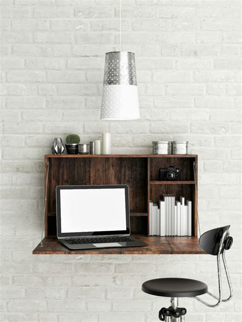 small wall mounted desk best 25 wall mounted desk ideas on desk on