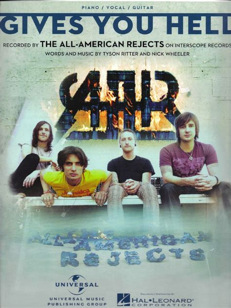 Personil All American Reject 5 the all american rejects gives you hell