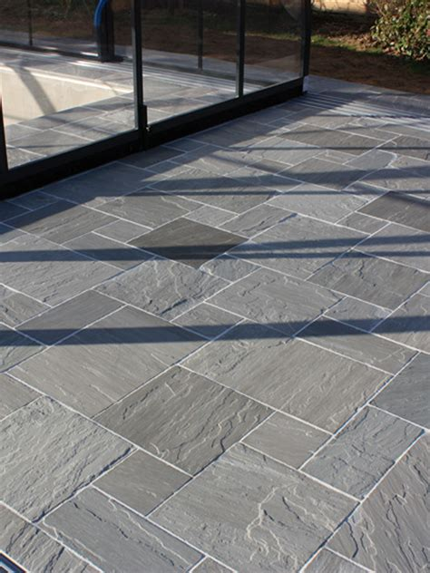 Where To Buy Patio Slabs by Kandla Grey Sandstone Grey Indian Sandstone Mix Size Pack