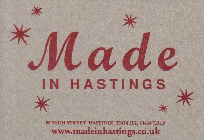 Made In Hastings by Feltbug November 2007