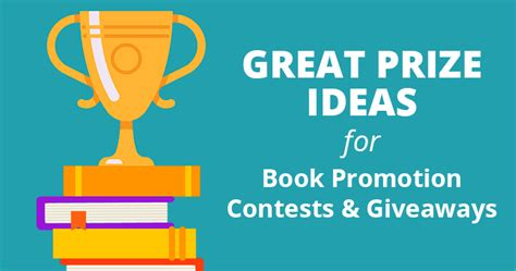 Giveaways And Contests - great prize ideas for book promotion contests and giveaways