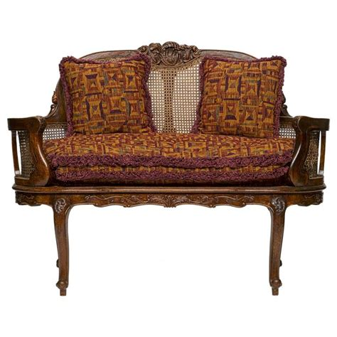 louis xv settee louis xv walnut settee for sale at 1stdibs