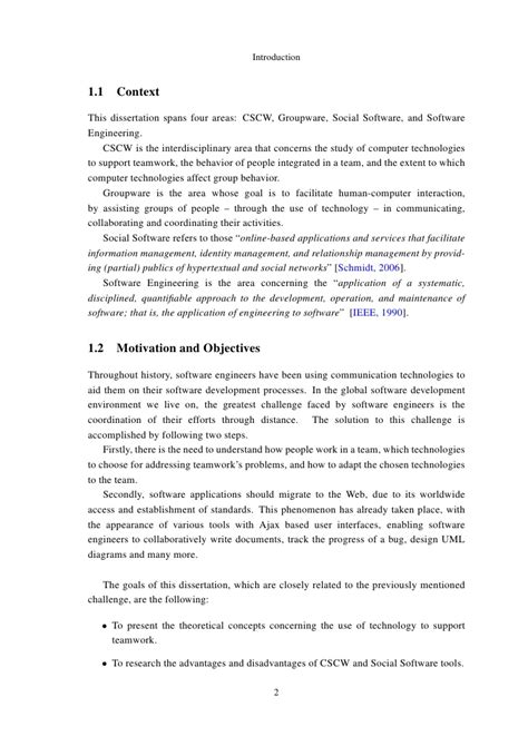 For Master Thesis In Software Engineering by How To Write Master Thesis In Software Engineering