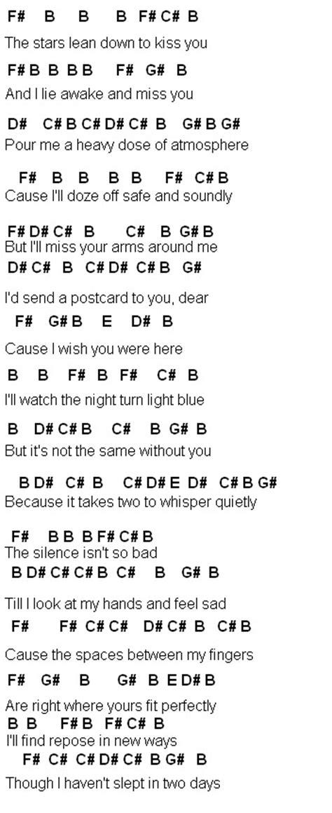 Vanilla Twilight Guitar Chords