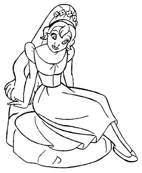 Thumbelina Coloring Page free coloring pages of thumbelina color