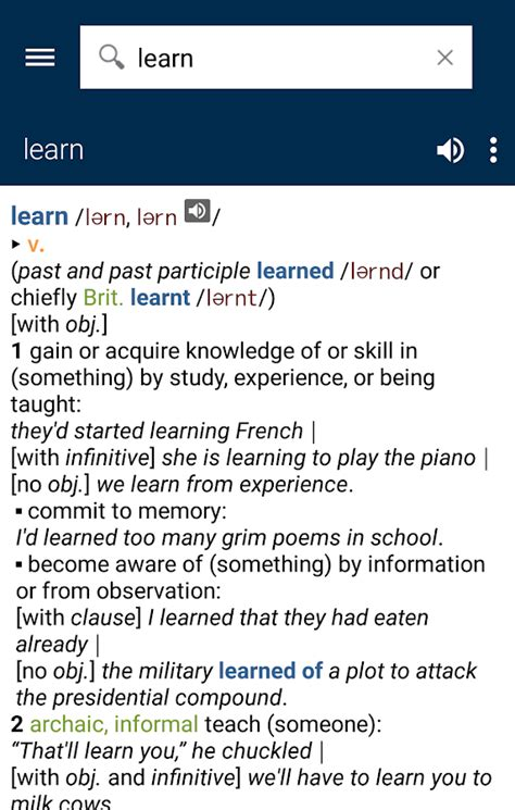 The New Oxford American Dictionary by New Oxford American Dictionary Android Apps On Play