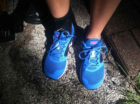running shoes for peroneal tendonitis blue hair day 115 my fastest run and a