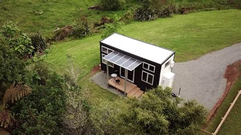 the archer tiny house build tiny katikati nz hogar pinterest drone footage of the millennial tiny house in katikati new